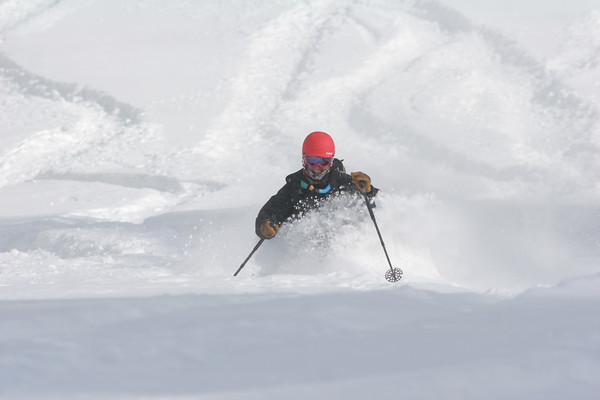 OUR WINNERS FOR THE 2012 BEST PHOTO OF THE SEASON: Skier Temira Lital and snowboarder Mike Aldridge. Congratulations!!