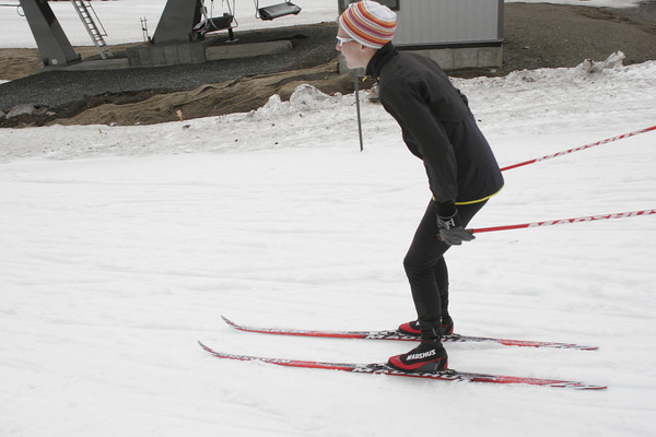 sun june 3 nordic ski at meadows base area ALL IMAGES LOADED