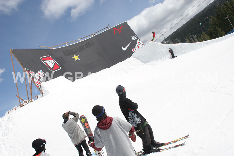 best skiers in the world at the sammy carlson invitational at mt bachelor may 25